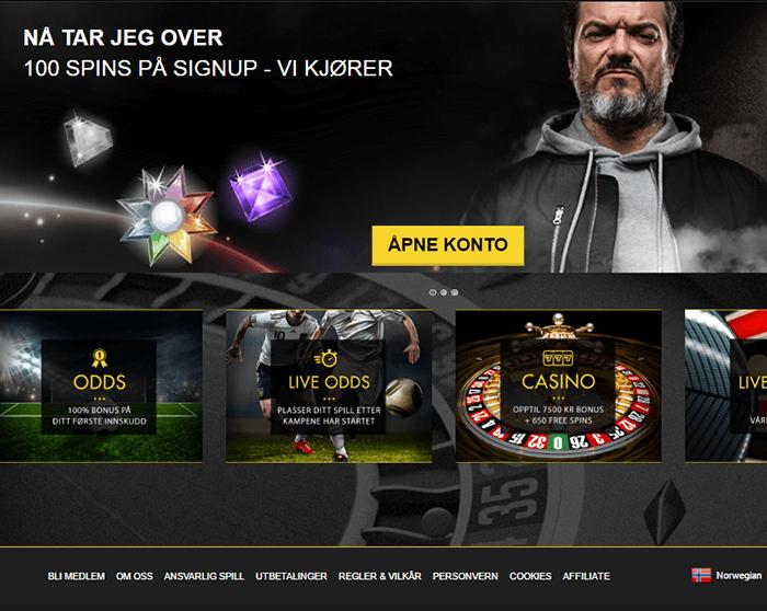 Norge Vegas Casinoer på Nett
