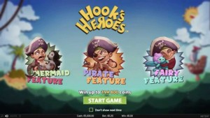 Hooks heroes spilleautomat