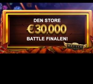 Konkurrer for € 30 000 totalt på Videoslots casino!