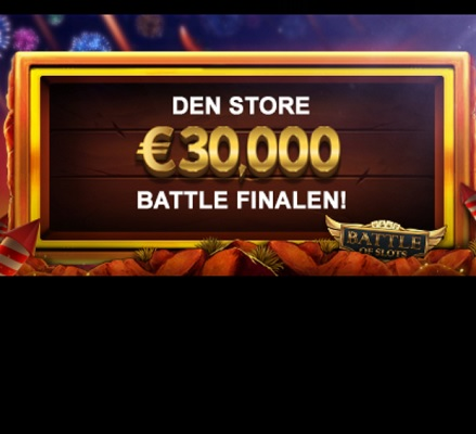 Konkurrer for € 30 000 totalt på Videoslots casino!