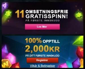 Spill for € 30 000 nå på Videoslots!