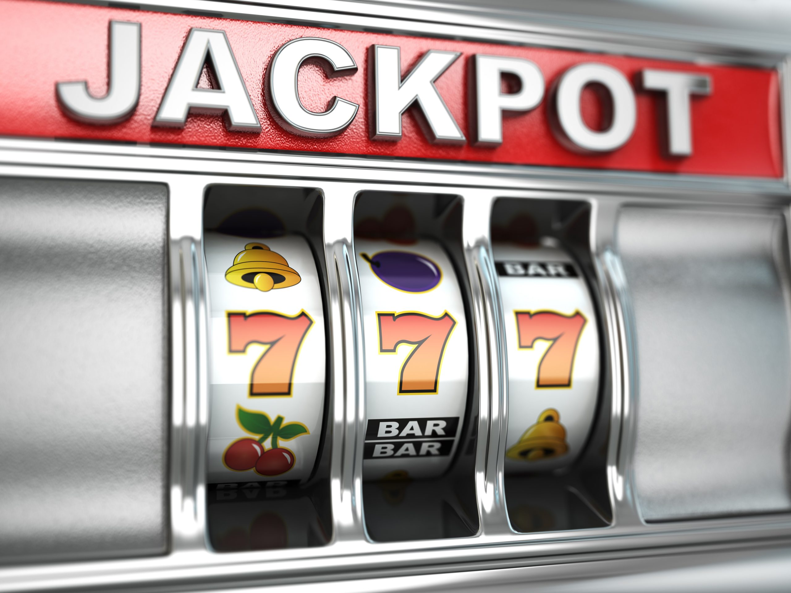 Spilleautomat med jackpot